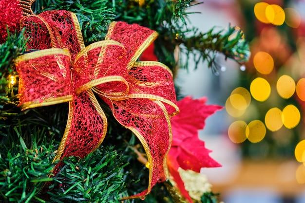 Новогоднее приветствие в виде ленты на цыпочке