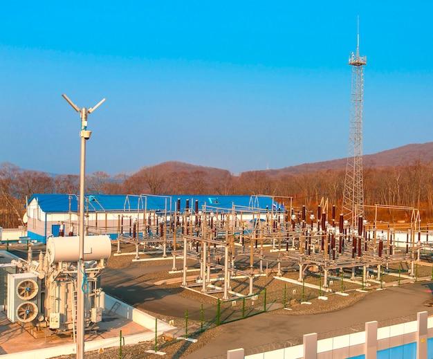 高電圧電力変電所