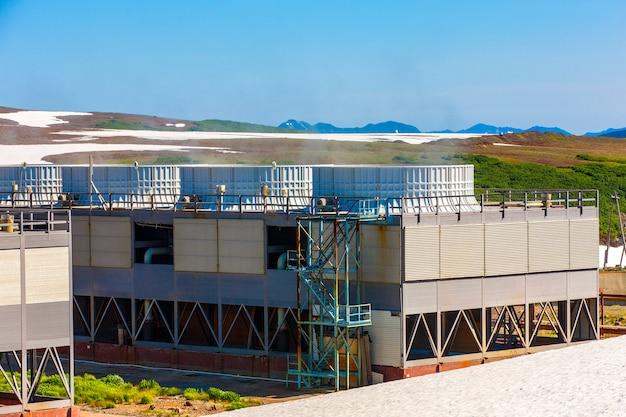 Геотермальная электростанция на мутновском вулкане