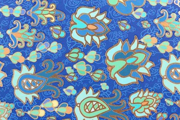Текстура цветной орнамент на бумаге. фон