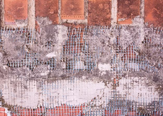 コンクリート壁の建設メッシュ