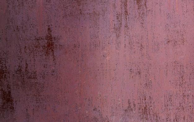 赤い古い塗装金属