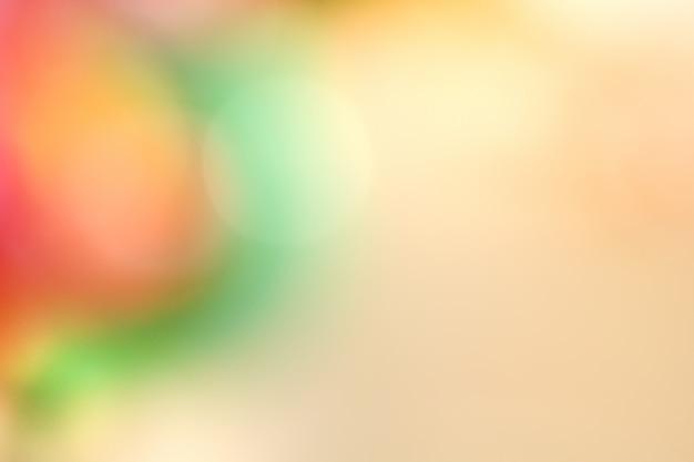 抽象的なカラフルなぼかしの背景