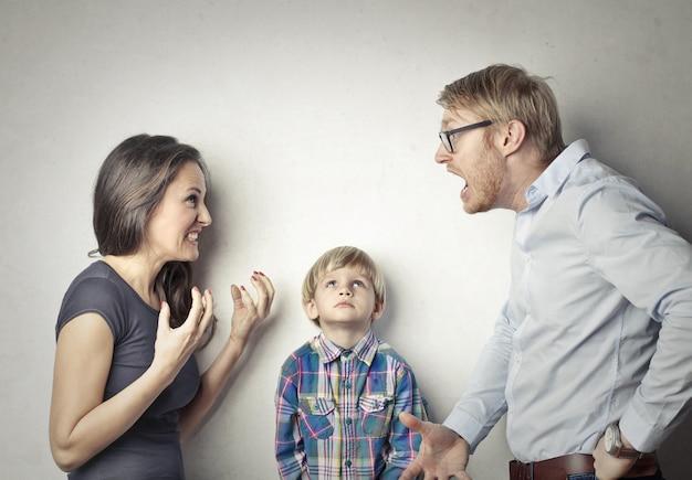 家族の口論