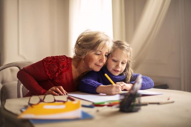 おばあちゃんと過ごす時間