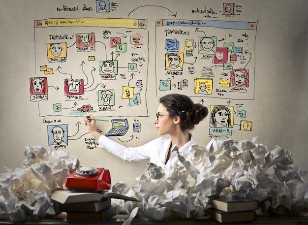 Креативная концепция цифрового проекта