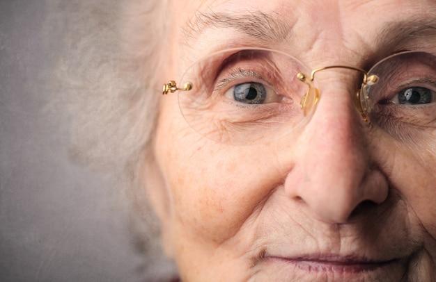 老婦人の肖像