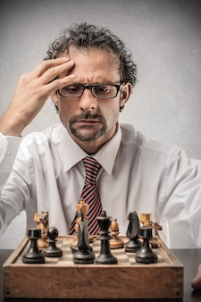 Игра в шахматы и мышление