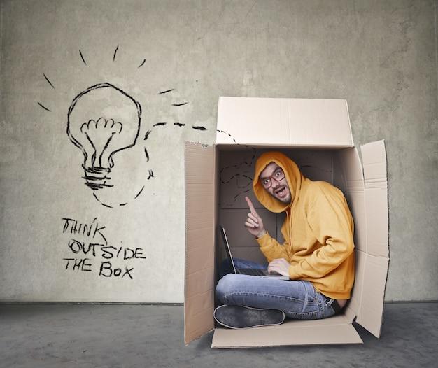 Думать вне коробки