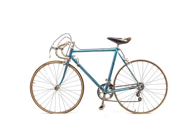 スポーティな青い自転車