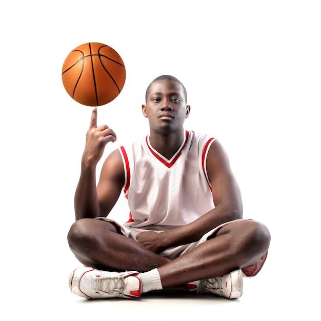 アフロバスケットボール選手