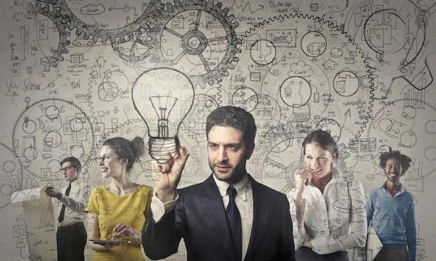Успешная бизнес-команда
