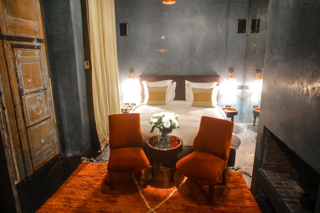 美しいホテルの部屋