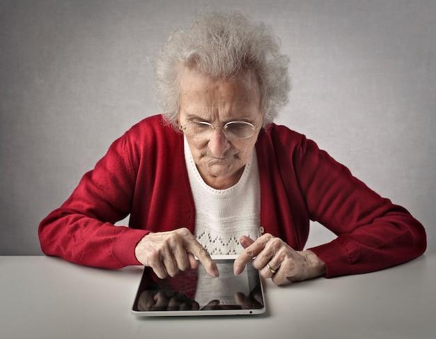 高齢者とテクノロジー