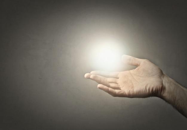 手と希望を助ける