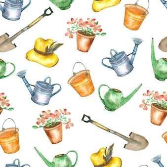 ガーデンツールのパターン