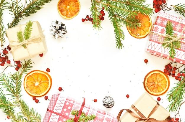 Рождественский фон для курортного сезона