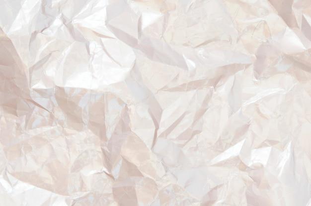 Шероховатый скомканные текстурированный фон бумаги. оберточная бумага.