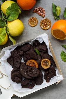 手作りチョコレート菓子ビーガン