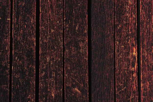 燃える木の背景のテクスチャ。素材と壁紙のコンセプト