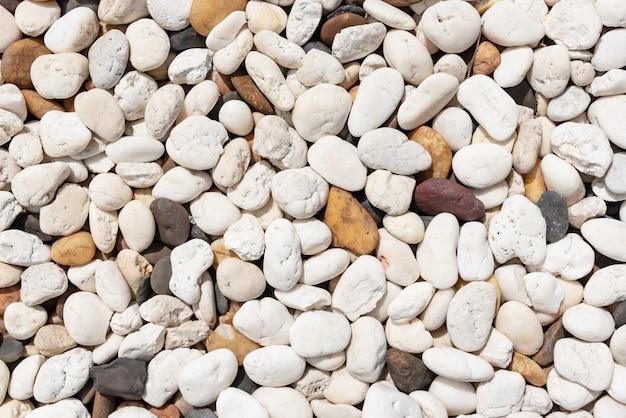 海の石の背景。テクスチャと自然のコンセプト