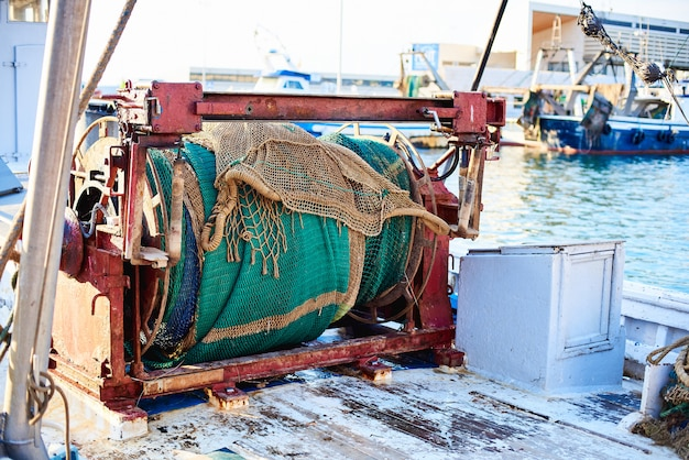 古い漁船の詳細