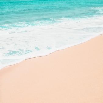 コピースペースのあるパラダイスビーチ