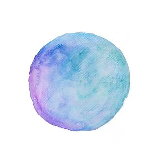 水彩画の背景銀河の色調
