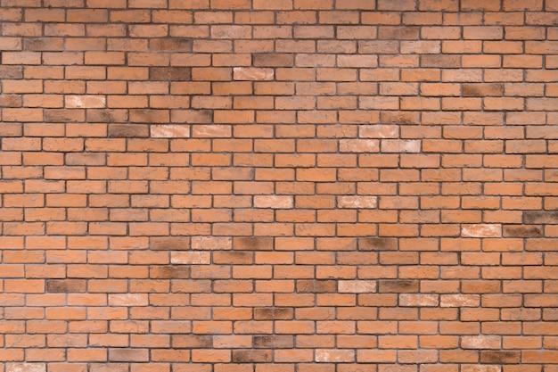 パノラマインテリアデザインの異なる赤と茶色の色調で古いれんが造りの壁テクスチャ背景