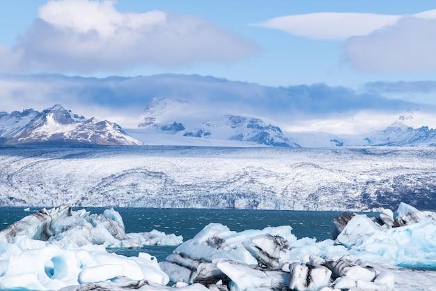氷河ラグーン、アイスランドの手配