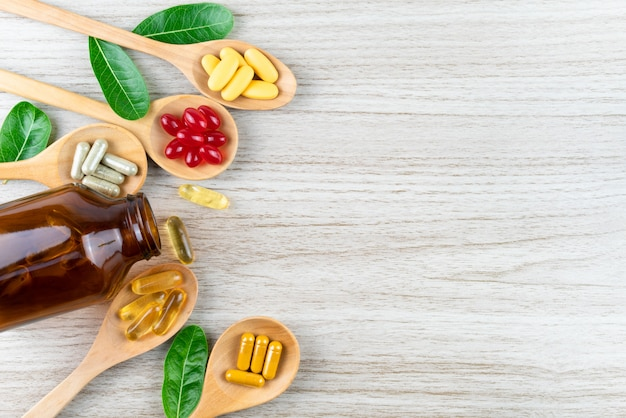 代替漢方薬、ビタミン、天然のサプリメント