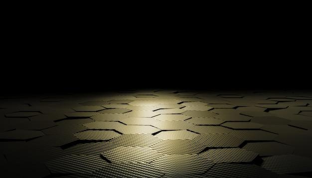 Шестиугольник углеродного волокна фон