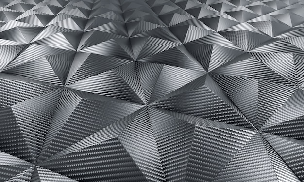 Геометрический фон из углеродного волокна