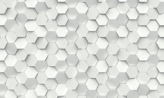 六角形の幾何学的な背景