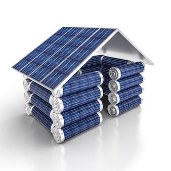 太陽光発電ハウス