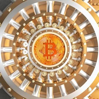 ビットコイン金庫室ドア