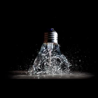 電球の爆発