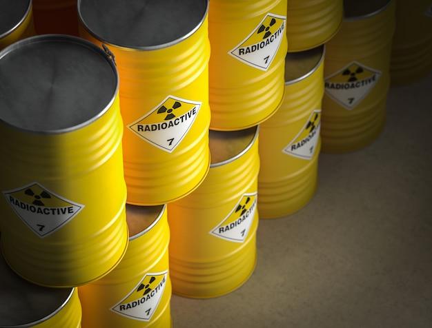 Радиоактивная желтая бочка