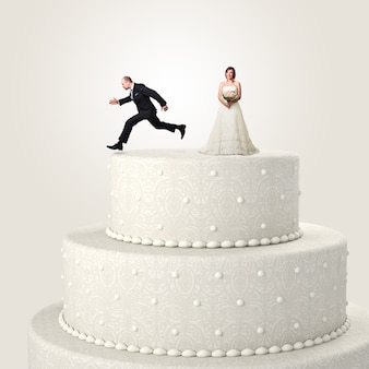 結婚式からの脱出