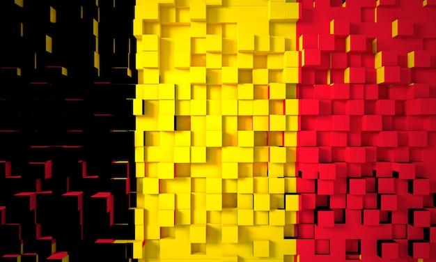 ドイツの幾何学的な旗