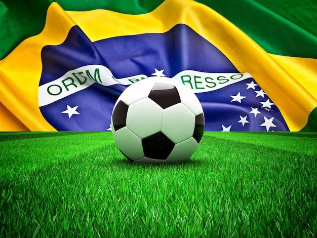 Футбольный мяч бразилия