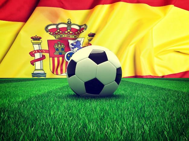 サッカーボールスペイン