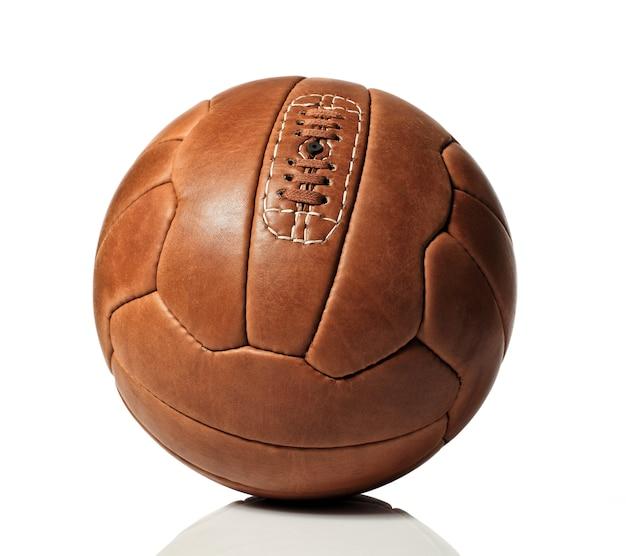 Ретро футбольный мяч