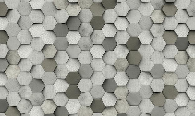 六角形の図形の背景
