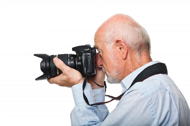 シニアカメラマン