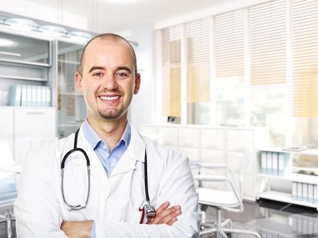 医師の肖像画