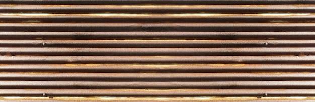 古いさびた亜鉛壁テクスチャバナーの背景