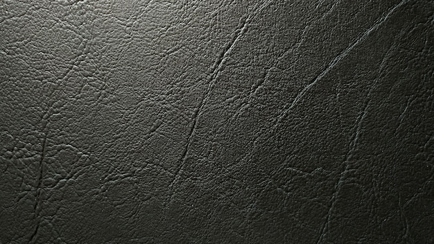ダークレザーのテクスチャとパターンの背景。