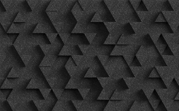 暗い三角形の背景