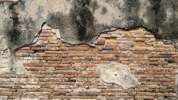 古いれんが造りの壁テクスチャ背景